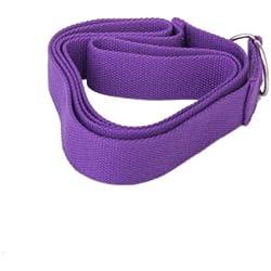 Cinturón para estiramientos, color morado