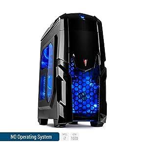 Sedatech PC Gaming Ultimate Intel i7-8700 6x 3.60Ghz (max 4.6Ghz), Geforce GTX 1070 8Gb, 16 Gb RAM DDR4, 500 Gb SSD, 2 Tb HDD, USB 3.1, Wifi, CardReader, HDMI2.0, Risoluzione 4K, DirectX 12, VR Ready. Computer Desktop senza OS