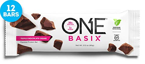 Bar Triple Chocolate (ISS Research Oh Yeah One Nutrition Bar, 12-Piece (Triple Chocolate Chunk))