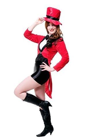 DRESS ME UP - Kostüm Damen Damenkostüm Dompteurin Zirkus Direktorin Löwenbändigerin Varieté L059