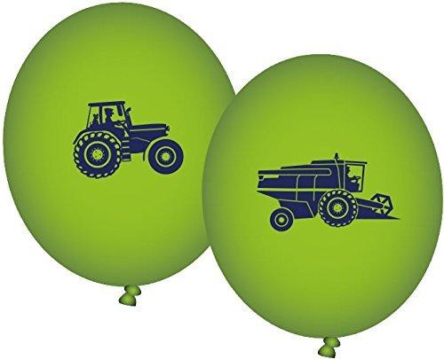 8 Luftballons * BAUERNHOF * für Party und Geburtstag // Kindergeburtstag Mottoparty Ballon Ballons Farm Tiere by DH-Konzept