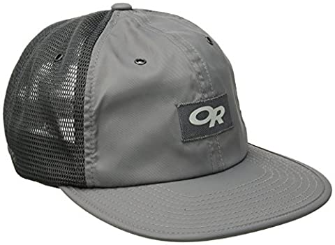 Outdoor Research Performance Trucker Trail Hat, Pewter, One Size