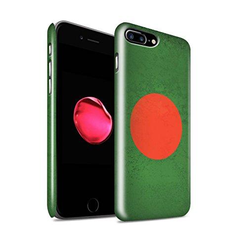 STUFF4 Glanz Snap-On Hülle / Case für Apple iPhone 6S+/Plus / Pakistan/Pakistanisch Muster / Asien Flagge Kollektion Bangladesch