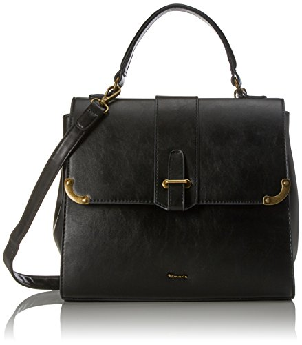 Tamaris Damen Mette Handbag Henkeltasche, ((black comb.), 17x23x29 cm -