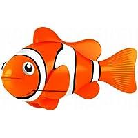 Goliath 32524 Robo-Fisch Clownfisch Orange |  Lebensechte Bewegungen, Auf- und Abtauchen | Wasserspaß für Kinder | elektronisches Wasser-Spielzeug