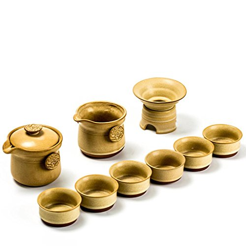 Dehua China Ceramics Keramik handbemalt Steinzeug, China Gongfu Tee Set 9 Stück , b models