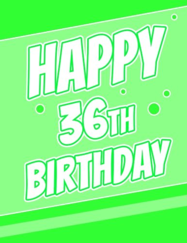 Happy 36th Birthday Discreet Internet Website Password Journal Or Organizer Gifts For 36 Year Old Women Men Sister Brother