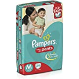 Pampers Medium Size Diapers Pants (Pack of 56)