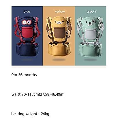 41zmnvNUkiL. SS416  - Happy Cherry - Portabebés Ergonómicas con Asiento de Cadera Cintura Ajustable para Bebés Recien Nacido 0-36 Meses Multifuncional
