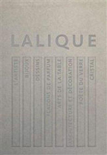 Lalique : Le génie du verre, la magie du cristal. Coffret contenant 8 volumes