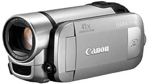 Canon FS406 Caméscope à mémoire Flash Port SD/SDHC HD 0,8 Mpix Zoom Optique 37x Argent