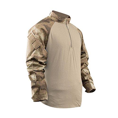Tru-Spec A-TACS TRU Combat Shirt, AU Camo, XSR