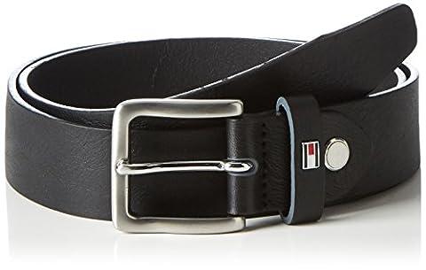 Tommy Hilfiger Edge Colored Loop Belt 3.5 Adj, Ceinture Homme, Noir (Black), 95 cm (Taille Fabricant: 95)