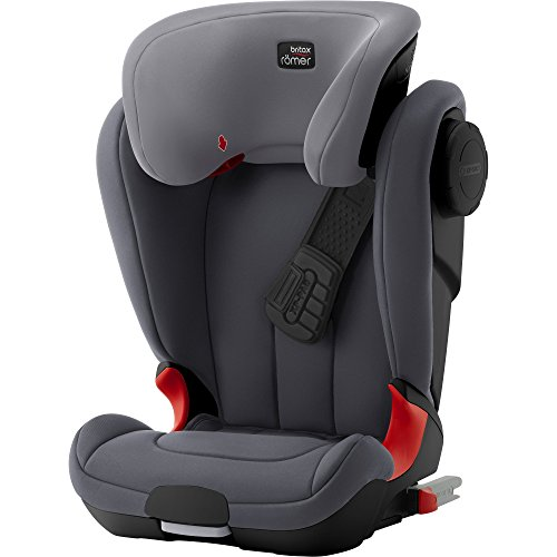 Preisvergleich Produktbild Britax Römer KIDFIX XP SICT Black series Kindersitz, Gruppe 2/3 (15 - 36 Kg), Kollektion 2017, storm grey