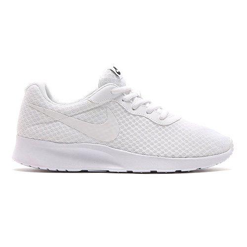 Nike Damen Tanjun Laufschuhe Weiß, 40.5 EU