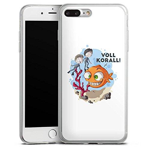 Apple iPhone X Slim Case Silikon Hülle Schutzhülle Ryole Fanartikel Merchandise Voll Korall Silikon Slim Case transparent