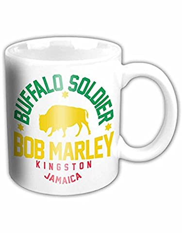 Bob Marley Mug Buffalo Soldier Official White boxed One Size