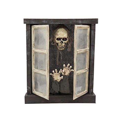 EUROPALMS Halloween Horror-Fenster 85cm
