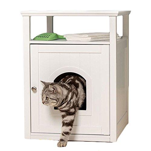 Lords & Labrador weiß Holz Katze Washroom