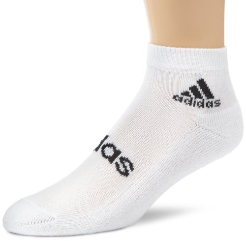 adidas Socken Linear Ankle Half-Cushioned, White/Black, 35-38, Z11472 (Climalite-pack)