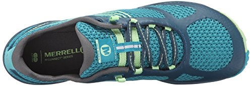 Merrell Pace Glove 3, Chaussures Multisport Outdoor Femme Turquoise