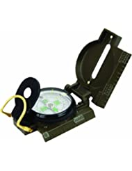 Highlander Military Style Luminous Dial Metal Compass