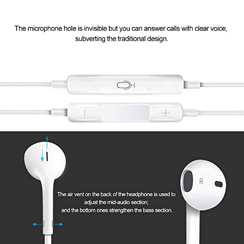 Stealkart Noise Isolating in Ear Canal Headphones Earphones with Pure Sound, Mic and Powerful Bass for Redmi 7, OnePlus 7 Professional, Oppo F11, Vivo V15, Redmi Y3, Samsung Galaxy M20, J2 Professional, J7 Prime, M10 Image 6