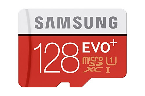 Samsung EVO Plus Advanced Performance Secure Digital micro SDXC-UHS I Speicherkarte, 128 GB, 80 MBytes/s Lesegeschwindigkeit Class 10