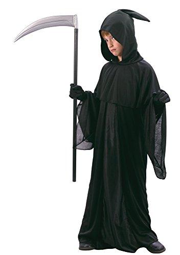 Sensenmann Kapuze Kostüm - Bristol Novelty CC645 Sensenmann Kostüm