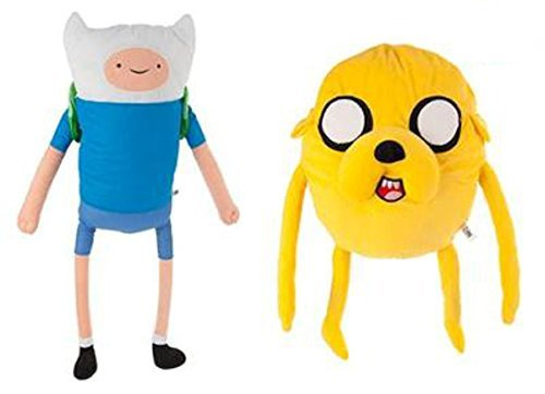 Adventure Time - Jake and Finn Twin Pack Plush - 30cm 12""