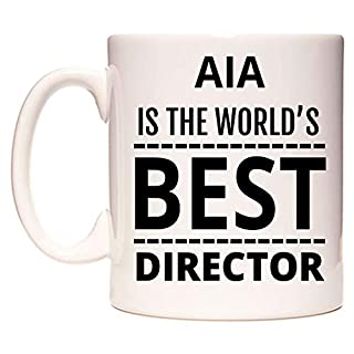 AIA Is The World's BEST Director Becher von WeDoMugs
