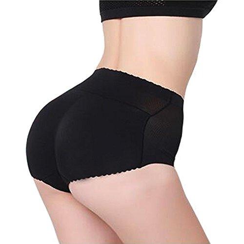 ZAIQUN Womens Mid-Waist Underwear Briefs Shapewear Panties Padded Butt Enhancer Test