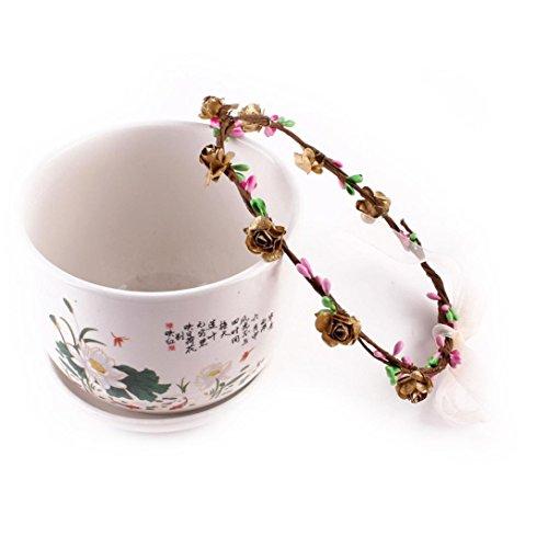 kingko® Kinder Strick Kränze 15cm 5.9 Geeignet für 2~9 Jahre alte Kinder machen Ihr Baby voller Vitalität Kaffee