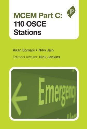 MCEM Part C: 120 OSCE Stations by Kiran Somani (2013) Paperback