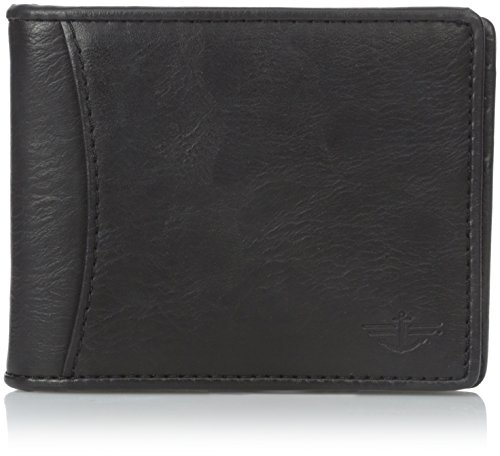 dockers-mens-slim-front-pocket-wallet-with-flick-bar-brown-one-size