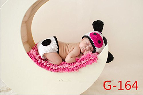 XMY Newborn Baby Crow Toddler Infant Knitted Costume Set Photo Photographie Prop (Crow Prop)