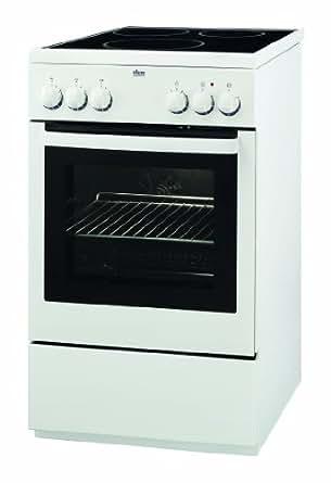 Faure FCI560MWC Cuisinière Induction Largeur : 50 cm Classe: A Blanc