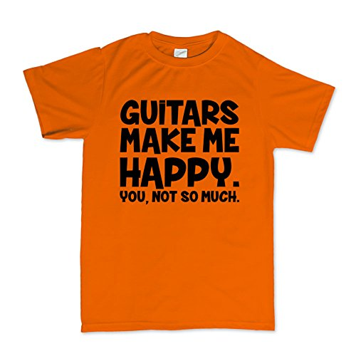 59 American Standard Les Paul Strat Tele Guitars Make Me Happy T-shirt