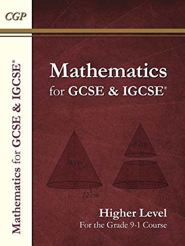 New Maths for GCSE and IGCSE Textbook, Higher (for the Grade 9-1 Course) por CGP Books
