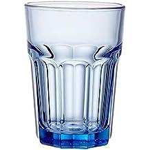 Topkapi 250.657 Long Drink Azul – 6 Pieza Miami Blue Juego XL de Vasos de Cristal