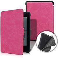 XIHAMA Funda para Kindle Paperwhite, Compatible con Todo Modo de Paperwhite Cuero de PU con Auto Encendido/Apagado(No para Nuevo Paperwhite 10th Gen) (Rosa)