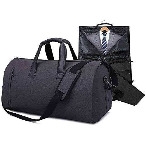 Anzugtasche,Multifunktion Kleidersack Reisetasche wasserdichte Sporttasche für Herren,Flugzeug, Reisen, Bussiness, Fitness Anzug Garment Gym mit Schuhfach Kleiderhülle