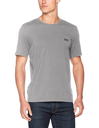 BOSS Hugo Boss Herren Mix & Match T-Shirt R Grau (Medium Grey 033)
