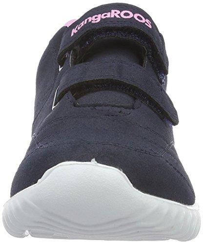 KangaROOS Unisex-Kinder Kaboo 2000 Low-Top Blau (dk Navy/pink 464)