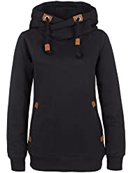 Sublevel Sweatshirt Kapuzenpullover | Hoodie sportlich-elegant für Damen - Top Qualität und Tragekomfort dank hohem Baumwollanteil