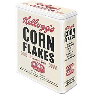 Nostalgic-Art 30303 Kellogg's - Corn Flakes Retro Package, Vorratsdose XL