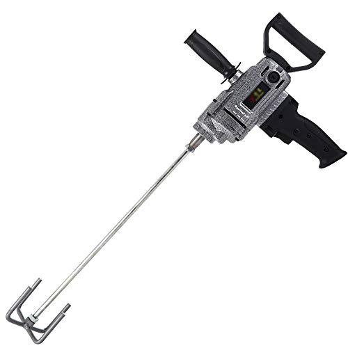 Dual-hammer-drill (Bohrhämmer- Paint Mixer - Handbohrmaschine in Industriequalität - 16 mm Mixer Drill Plane Drill Cement Putty Powder Hochleistungsmischer Paint Mixer (Color : B))