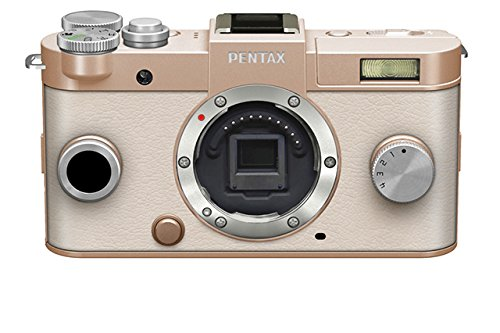 Pentax Q-S1 Compact System Camera - Gold (Body Kit)