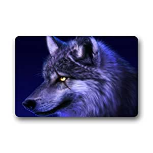 Custom Wolf Indoor/Outdoor Floor Mats Living Room Bedroom Doormat DE-DT135