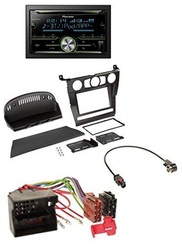 Pioneer FH-X730BT MP3 2DIN Bluetooth AUX CD USB Autoradio für BMW 5er (E60 2003-2007) (Hinten Doppel-passe)